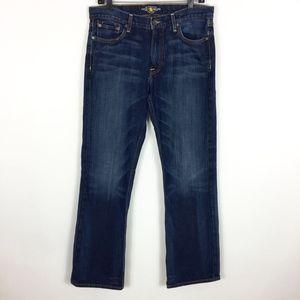 Lucky Brand Jeans 361 Vintage Straight Dark 32x32